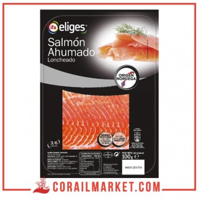Filet de saumon fumé ifa eliges 100 g
