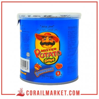 chips gout barbecue mister Potato 45 g