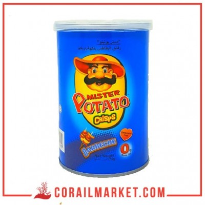 chips gout barbecue mister Potato 75 g