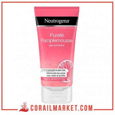 gel exfoliant pureté pamplemousse neutrogena 150 ML