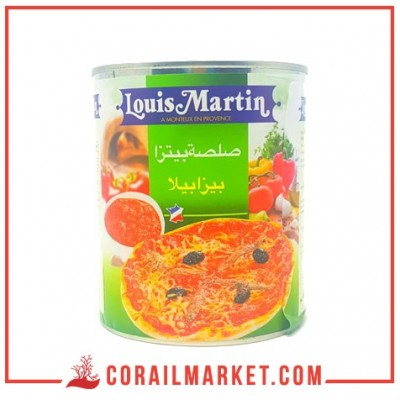 Garniture Pizza louis martin 800 g