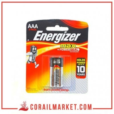 pile Energizer MAX – Blister Pack 2 – AAA