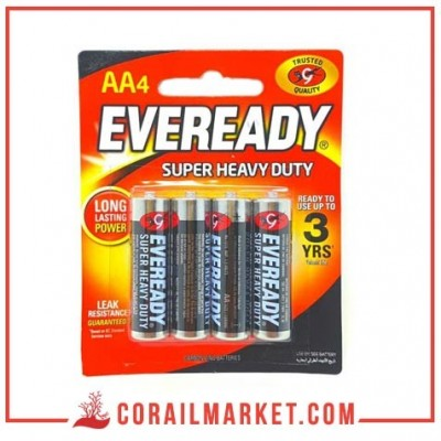 pile EVEREADY – Blister Pack 4 – AA