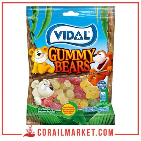 BONBONS Mini Sugared Bears VIDAL 100 G